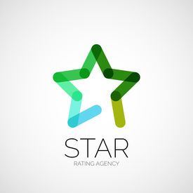 picture of logo  - abstract company logo design - JPG