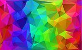 Multicolor Polygonal Mosaic Background, Vector Illustration,  Business Design Templates