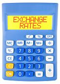 Calculator With Exchange Rates