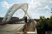 The Ostiense Bridge - Garbatella Bridge In Rome City