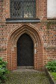 Metal Doors Of The Old Church