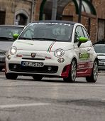 fiat 500 abart Mille miglia history race