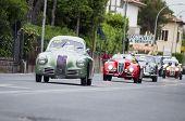 old car FIAT 1100 S berlinetta Gobbone 1948 mille miglia 2014