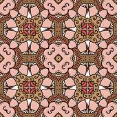Pink-brown Pattern