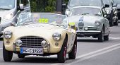 old car A.C. Ace 1955 mille miglia 2014