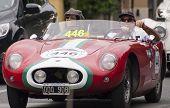 Old Racing O.S.C.A. 372 FS BarchettaMILLE MIGLIA 2014
