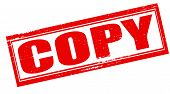 picture of plagiarism  - Stamp with word copy inside vector illustration - JPG