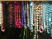 colorful necklaces