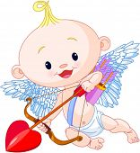Valentine�?�¢??s Day Cupid aims archery