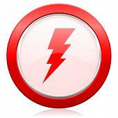 bolt icon flash sign