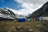 Base Camp In Himalayas