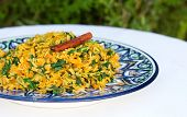 image of cumin  - traditional Indian dish called khichdi - JPG