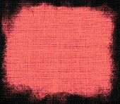 Tango pink burlap textured background