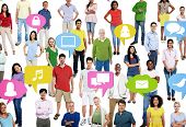 Diversity People Social Networking Communication Community Concept