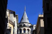 Fragment Of Galata Tower