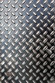 Dark Metal Diamond Plate