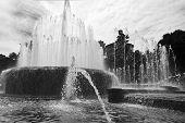 Milan Sforza Castle Water Fountain