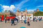 Rijksmuseum Amsterdam Museum With Words I Amsterdam