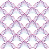 Vector background with abstract geometrical arches