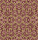Abstract geometric spirographs pattern