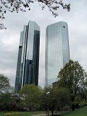 Frankfurt am Main, Germany - Deutsche Bank Twin Towers