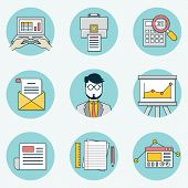 Set Of Data Analytics Icons For Business - Part 2