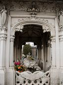 image of wraith  - Monumental Cemetery in the city of Turin - JPG
