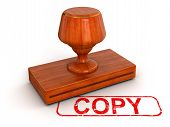 Rubber Stamp copy (clipping path included)