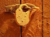 cellar padlock