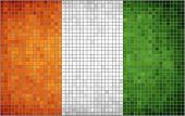 Abstract Mosaic Flag of Ivory Coast