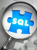 stock photo of query  - SQL  - JPG