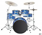 pic of drum-set  - Drums or Drum set  - JPG