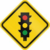 image of traffic rules  - Colombian road warning sign - JPG