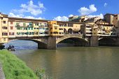 picture of old bridge  - Florence  - JPG