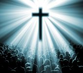 ������, ������: Christian religion background