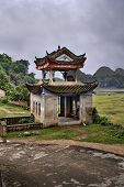 stock photo of pergola  - Fuli Village Yangshuo Guangxi China  - JPG