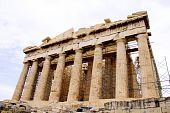 picture of akropolis  - The Parthenon, in Athens Akropolis, Greece, EU