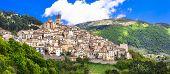 stock photo of hilltop  - Castel del Monte  - JPG