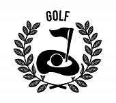 image of miniature golf  - golf design over white background vector illustration - JPG