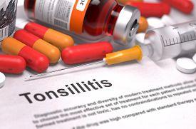 pic of mucosa  - Tonsillitis  - JPG