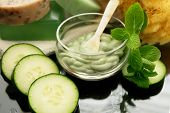 cucumber mint spa facial