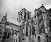 Black & White York Minster