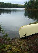Lakeside canoa