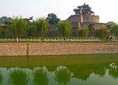 Congtai Park In Historical City Handan poster