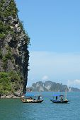 Fishermen In Ha Long Bay