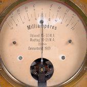Ampere Meter Very Old