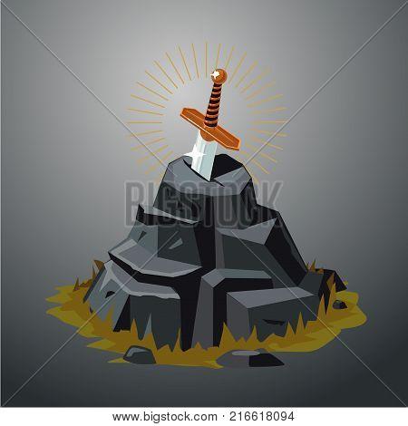 Excalibur Vector illustration