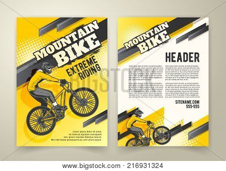 Vector flyer with
