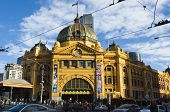 Flinders Street Station in the Afternoon Sun, Melbourne, Australia