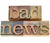Slecht nieuws